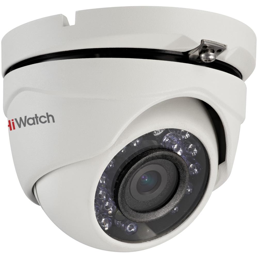 Фото 4 - HiWatch DS-T103. Уличная 720p сферическая HD-TVI видеокамера с поддержкой стандарта CVBS.