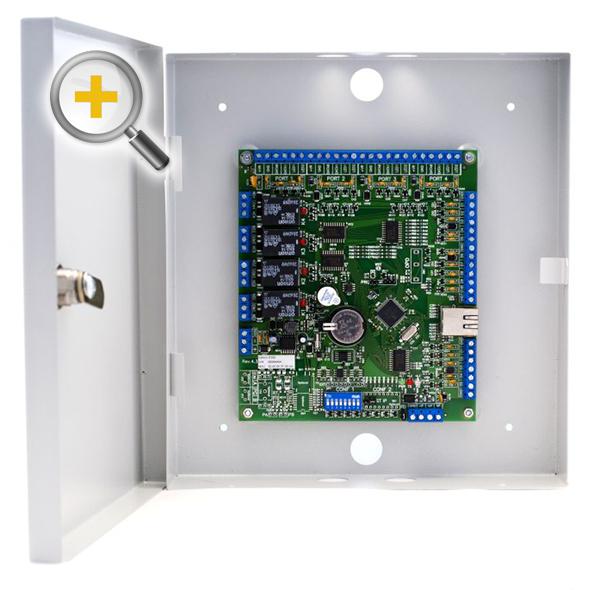 Фото 4 - Сетевой контроллер Sigur E500D4, до 7000 ключей, 500 временных зон и 40000 событий.