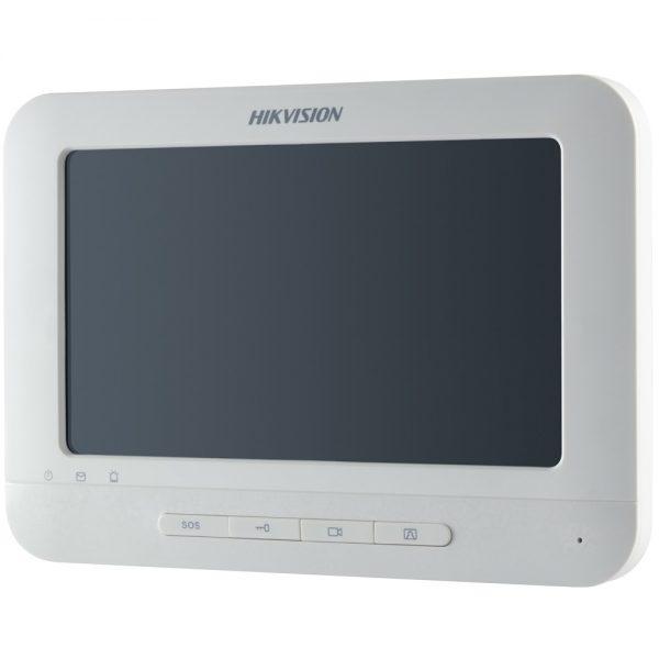 Фото 3 - HikVision  DS-KH6310(-W). Внутренний IP-монитор для систем домофонии с Wi-Fi (-W).
