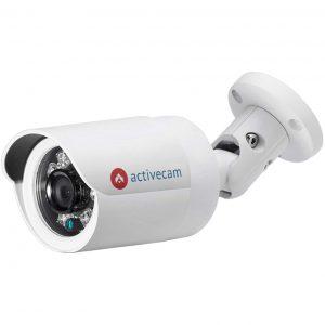 Фото 4 - ActiveCam AC-D2141IR3 + ПО TRASSIR в подарок. Уличная сетевая 4Мп камера-цилиндр в миниатюрном дизайне.