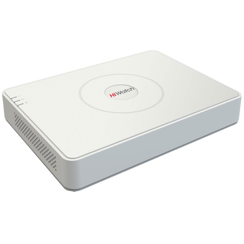 Фото 4 - Гибридный видеорегистратор HiWatch DS-H116G с поддержкой стандартов CVBS, HD-TVI, AHD и 1 IP-камеры.