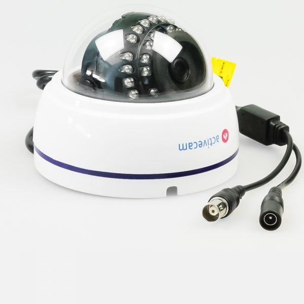 Фото 2 - ActiveCam AC-TA381LIR2. Мультистандартная 1080p аналоговая миникупольная камера.