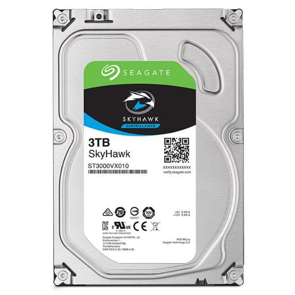 Фото 2 - Seagate ST3000VX010. Жесткий диск 3 ТБ серии SkyHawk для систем видеонаблюдения на базе TRASSIR.