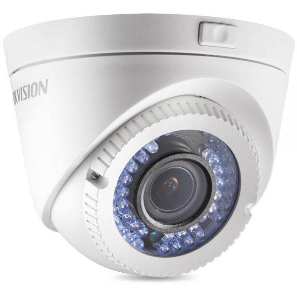 Фото 1 - Уличная HD-TVI камера Hikvision DS-2CE56D1T-VFIR3 с ИК-подсветкой и вариообъективом.