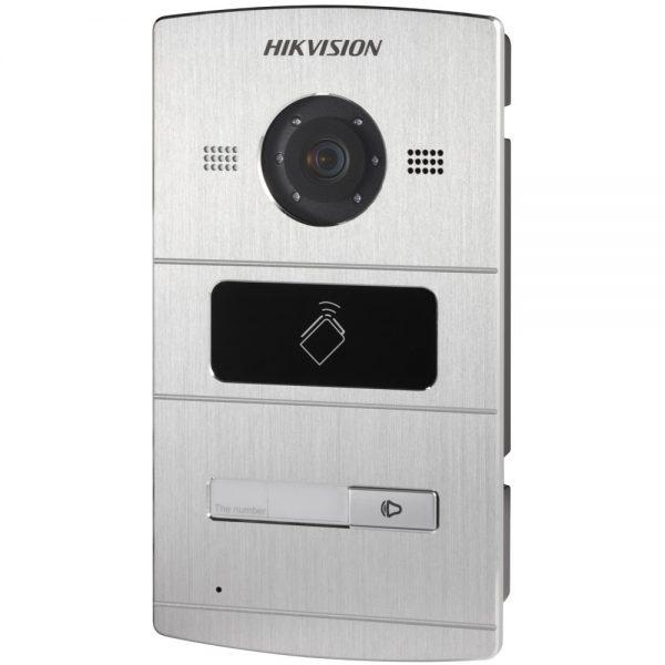 Фото 2 - HikVision DS-KV8X02-IM. Уличная IP вызывная панель с встроенной видеокамерой и LED-подсветкой для систем домофонии.