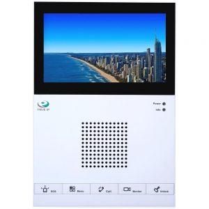 """Фото 7 - TRUE-IP TI-2760CW. 7"""" IP-монитор в ультратонком дизайне для систем домофонии с емкостным экраном и встроенной памятью."""