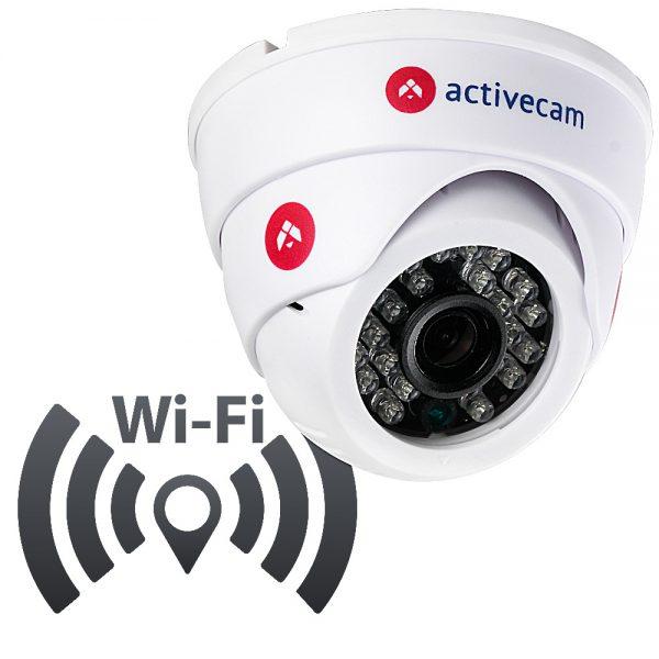 Фото 4 - ActiveCam AC-D8111IR2W. Внутренняя беспроводная 1.3Мп сферическая IP-камера с ИК-подсветкой.