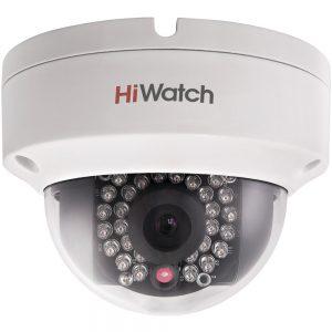 Фото 34 - HiWatch DS-I122. Уличная бюджетная компактная вандалозащищенная купольная IP-камера.