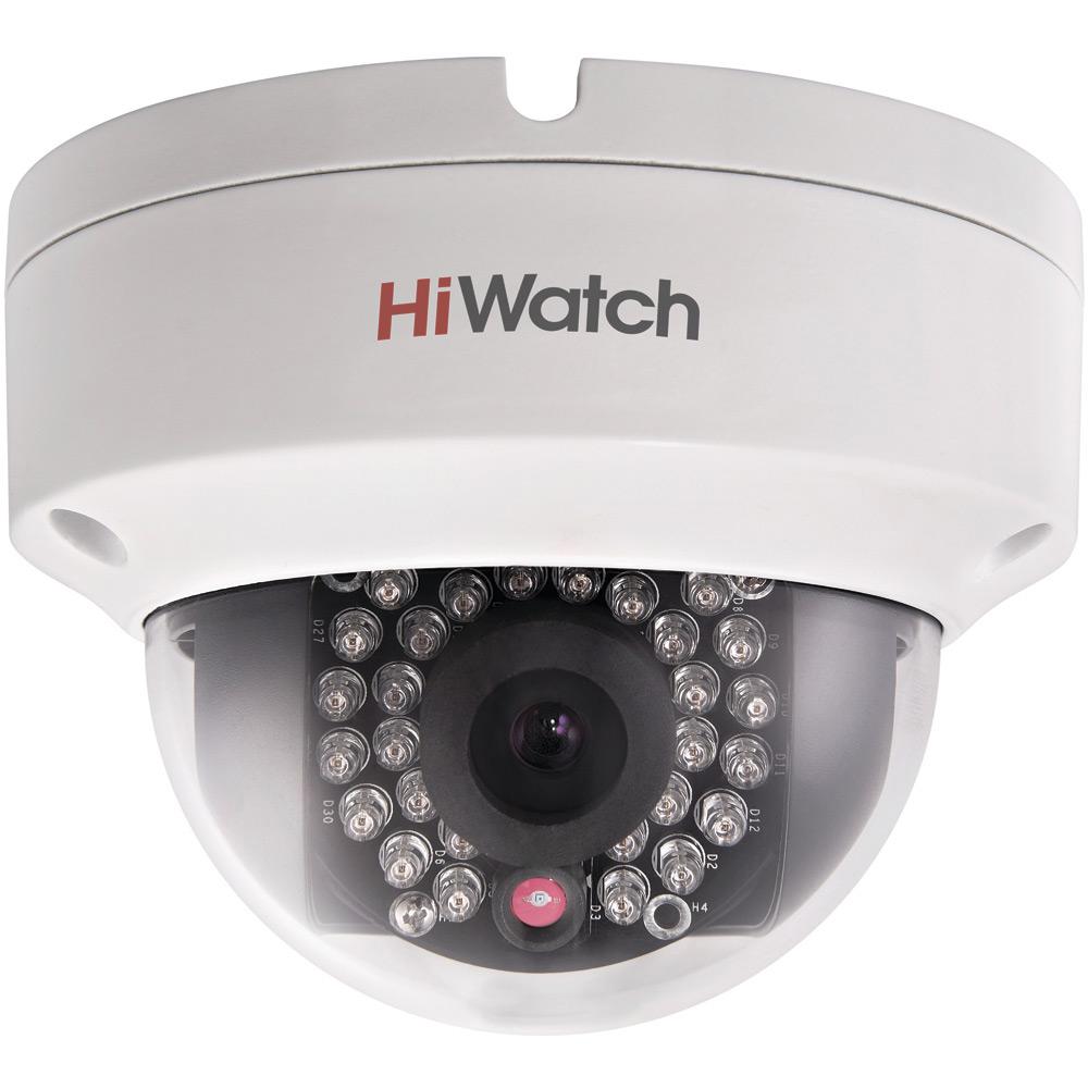 Фото 3 - HiWatch DS-I122. Уличная бюджетная компактная вандалозащищенная купольная IP-камера.