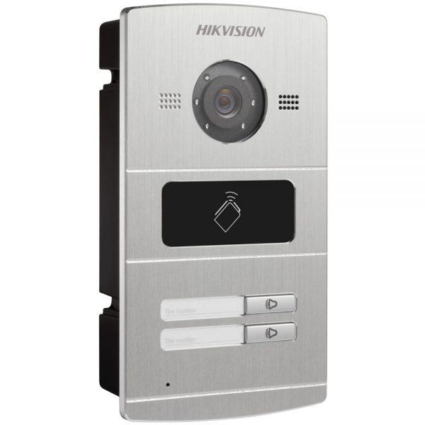 Фото 5 - HikVision DS-KV8X02-IM. Уличная IP вызывная панель с встроенной видеокамерой и LED-подсветкой для систем домофонии.