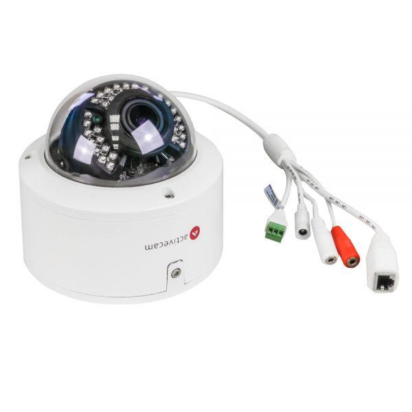 Фото 2 - ActiveCam AC-D3143VIR2 + ПО TRASSIR в подарок. Уличная вандалостойкая купольная 4 Мп IP-камера с вариофокальным объективом.