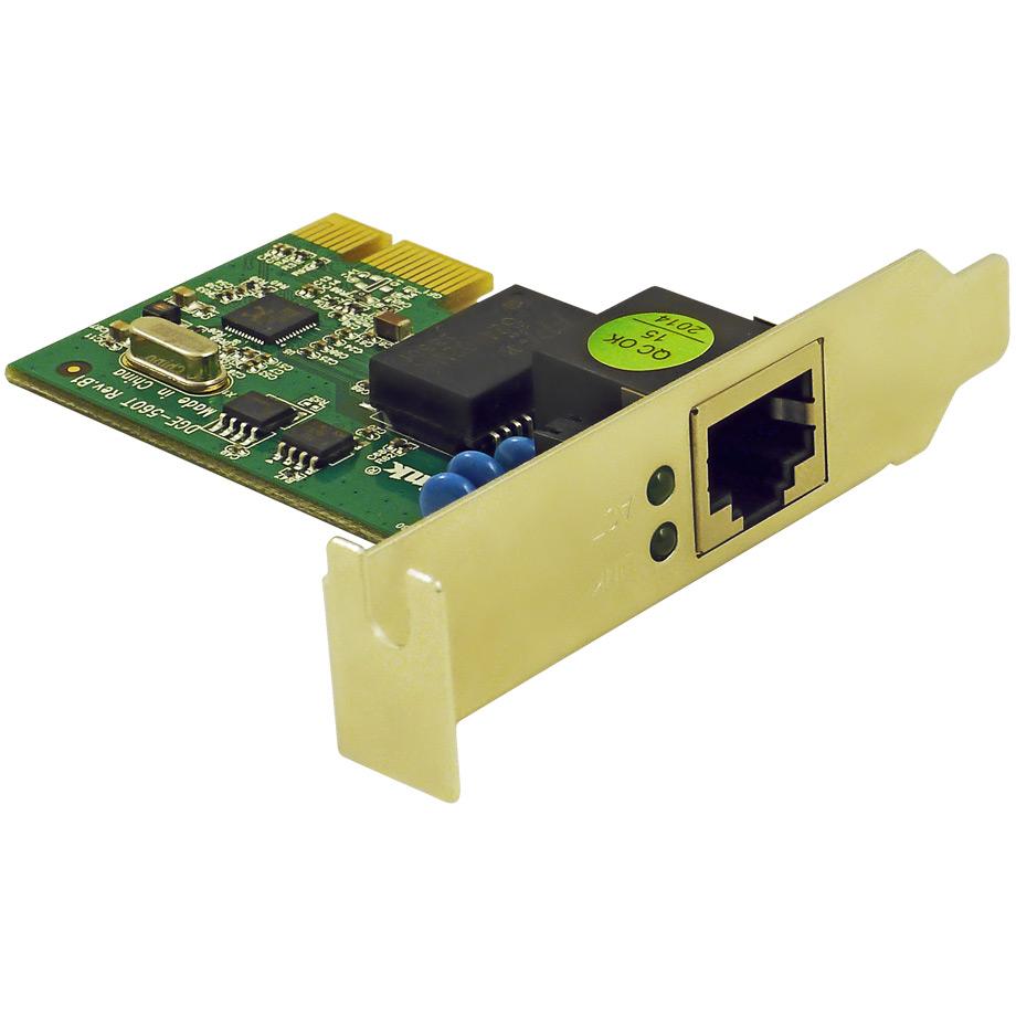 Фото 2 - D-Link DGE-560T. Дополнительная PCI-E сетевая карта для видеорегистраторов TRASSIR..