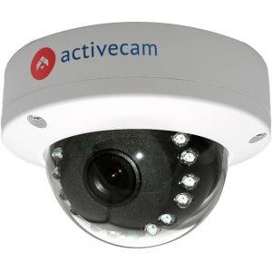 Фото 7 - ActiveCam AC-D3141IR1 + ПО TRASSIR в подарок. Уличная компактная сетевая Dome-камера 4Мп с WDR 120 дБ, ИК-подсветкой и USB.