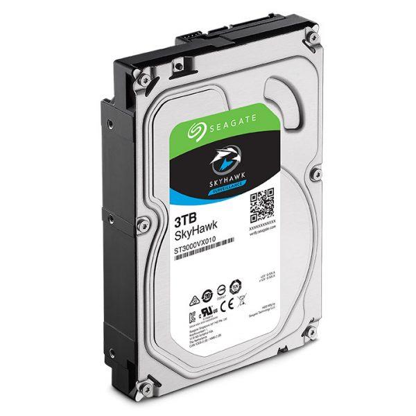 Фото 3 - Seagate ST3000VX010. Жесткий диск 3 ТБ серии SkyHawk для систем видеонаблюдения на базе TRASSIR.