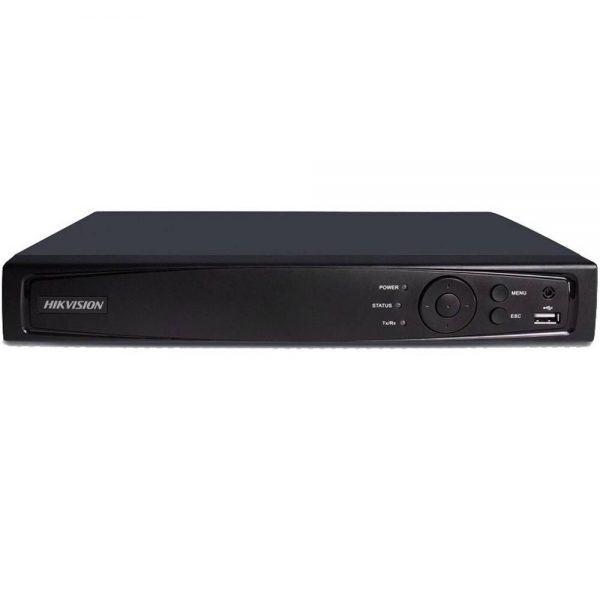 Фото 1 - Гибридный видеорегистратор Hikvision DS-7204HUHI-F1/N с подключением до 4 CVBS/HD-TVI/AHD и до 2 IP-камер 4Мп.