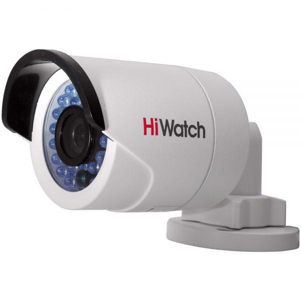 Фото 1 - HiWatch DS-I120. Уличная компактная IP-камера в цилиндрическом корпусе.
