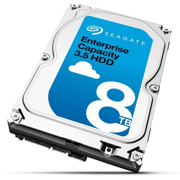 Фото 2 - Seagate ST8000NM0055. Жесткий диск 8 ТБ серии Enterprise Capacity для систем видеонаблюдения на базе TRASSIR.