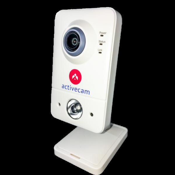 Фото 2 - ActiveCam AC-D7111IR1W. Внутренняя бюджетная сетевая Cube-камера с Wi-Fi и ИК-подсветкой.