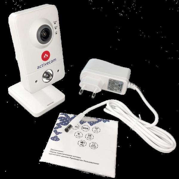 Фото 5 - ActiveCam AC-D7111IR1W. Внутренняя бюджетная сетевая Cube-камера с Wi-Fi и ИК-подсветкой.