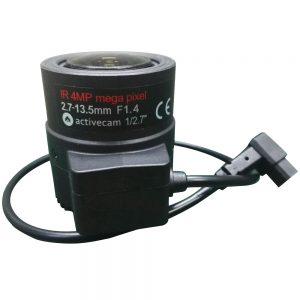 Фото 2 - 4 Мп вариофокальный объектив ActiveCam AC-MP27135D.IR с АРД и ИК-коррекцией.