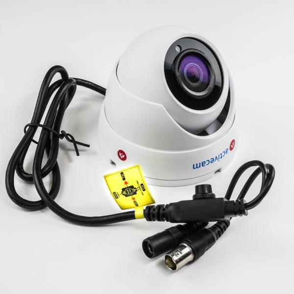 Фото 4 - ActiveCam AC-TA481IR2. Уличная 2Мп мультистандартная вандалозащищенная камера-сфера.