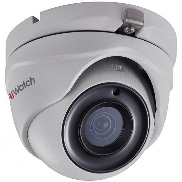 Фото 1 - HiWatch DS-T303. Уличная 3Мп HD-TVI камера-сфера с ИК-подсветкой.