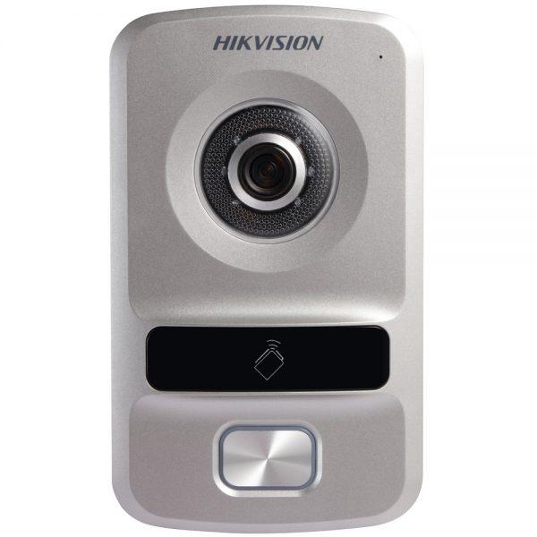 Фото 1 - HikVision DS-KV8102-IP/VP. Уличная IP вызывная панель с встроенной видеокамерой и LED/ИК-подсветкой для систем домофонии.