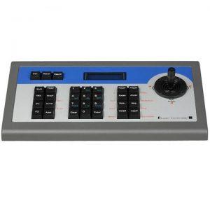 Фото 2 - Пульт Hikvision DS-1002KI с 2D джойстиком и клавиатурой для управления поворотными скоростными камерами и DVR.