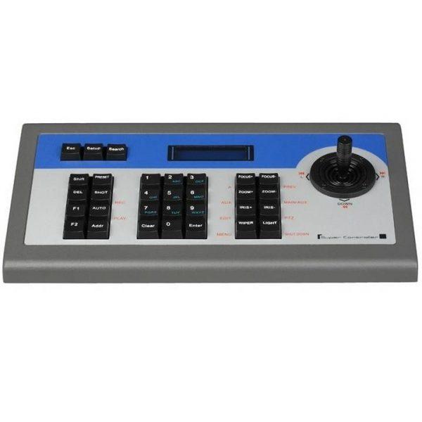 Фото 1 - Пульт Hikvision DS-1002KI с 2D джойстиком и клавиатурой для управления поворотными скоростными камерами и DVR.