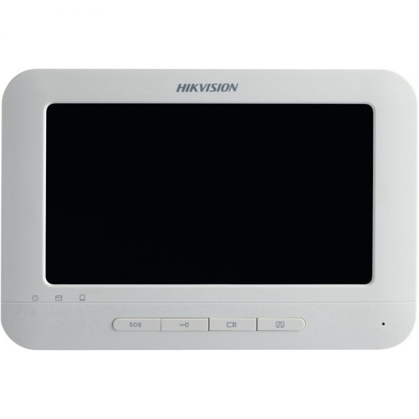 Фото 1 - HikVision  DS-KH6310(-W). Внутренний IP-монитор для систем домофонии с Wi-Fi (-W).