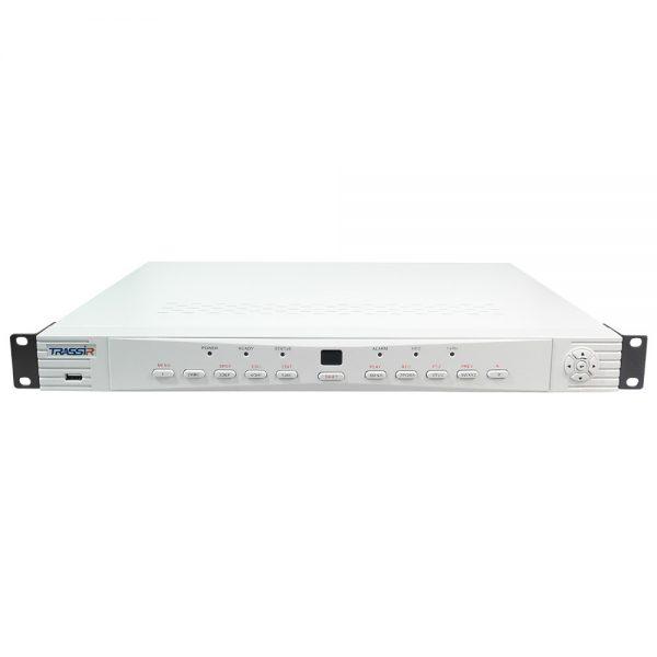 Фото 2 - Гибридный видеорегистратор TRASSIR Lanser 1080P-8. IP-видеосервер TRASSIR Lanser 1080P-8 с поддержкой стандартов IP/TVI/AHD/CVBS на 10 каналов.
