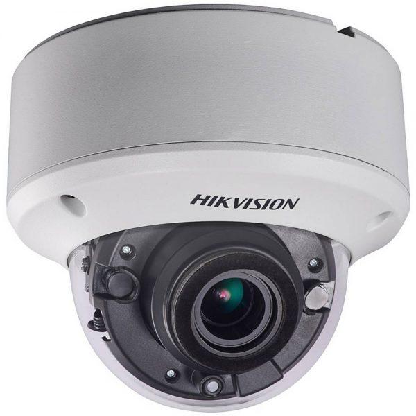 Фото 1 - Уличная вандалостойкая 3 Мп TVI-камера Hikvision DS-2CE56F7T-VPIT3Z с моторизированным объективом, WDR 120 дБ и EXIR-подсветкой.