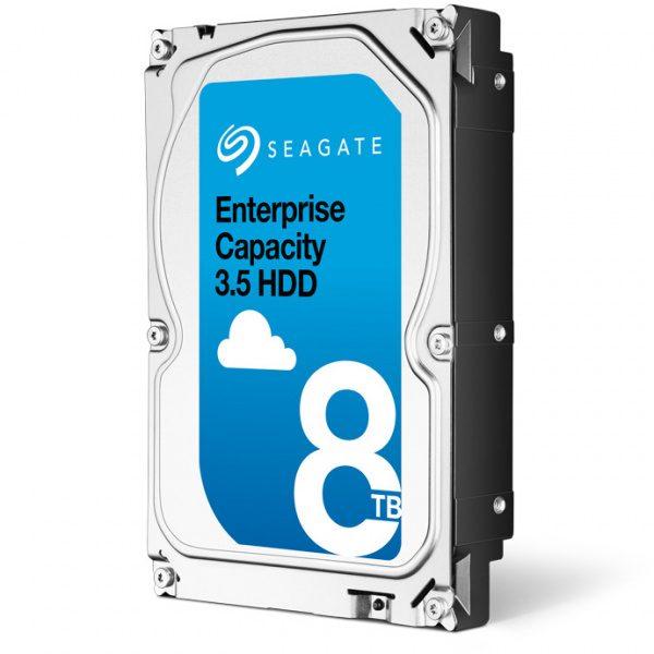 Фото 1 - Seagate ST8000NM0055. Жесткий диск 8 ТБ серии Enterprise Capacity для систем видеонаблюдения на базе TRASSIR.
