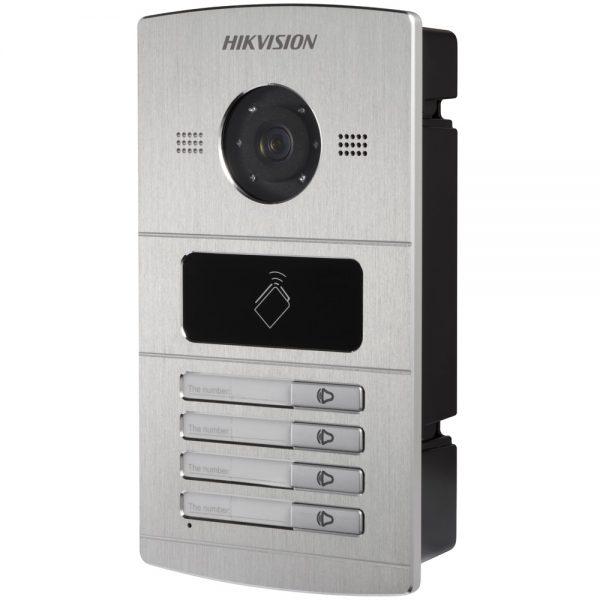 Фото 7 - HikVision DS-KV8X02-IM. Уличная IP вызывная панель с встроенной видеокамерой и LED-подсветкой для систем домофонии.