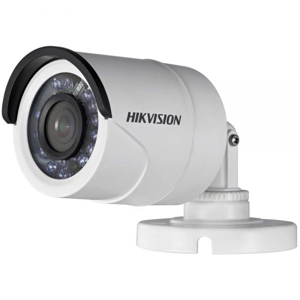 Фото 1 - Hikvision DS-2CE16D5T-IR. Уличная 2Мп HD-TVI камера-цилиндр с OSD-меню и WDR 120дБ.