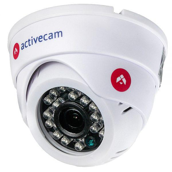 Фото 1 - ActiveCam AC-D8111IR2W. Внутренняя беспроводная 1.3Мп сферическая IP-камера с ИК-подсветкой.