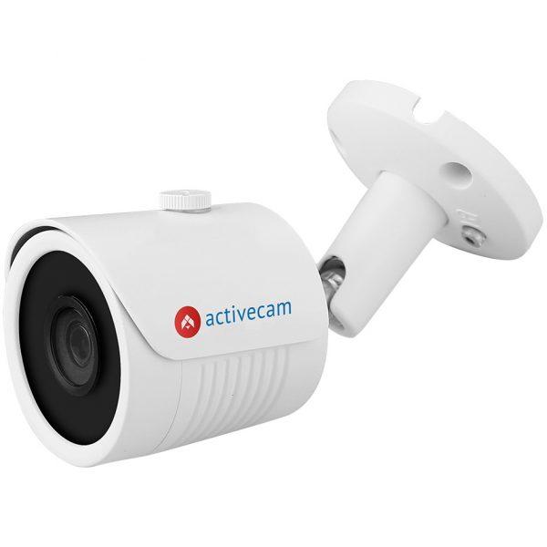 Фото 1 - ActiveCam AC-TA281IR3. Уличная компактная 4-в-1 аналоговая 2Мп камера-цилиндр с ИК-подсветкой.