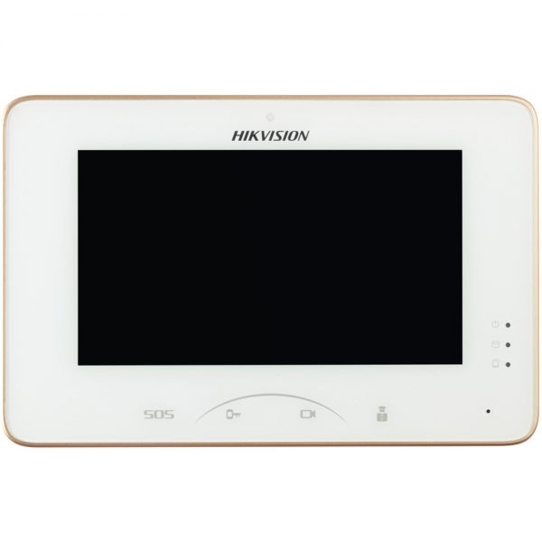 Фото 2 - HikVision DS-KH8300-T. IP-монитор для систем домофонии с поддержкой SD-карт.