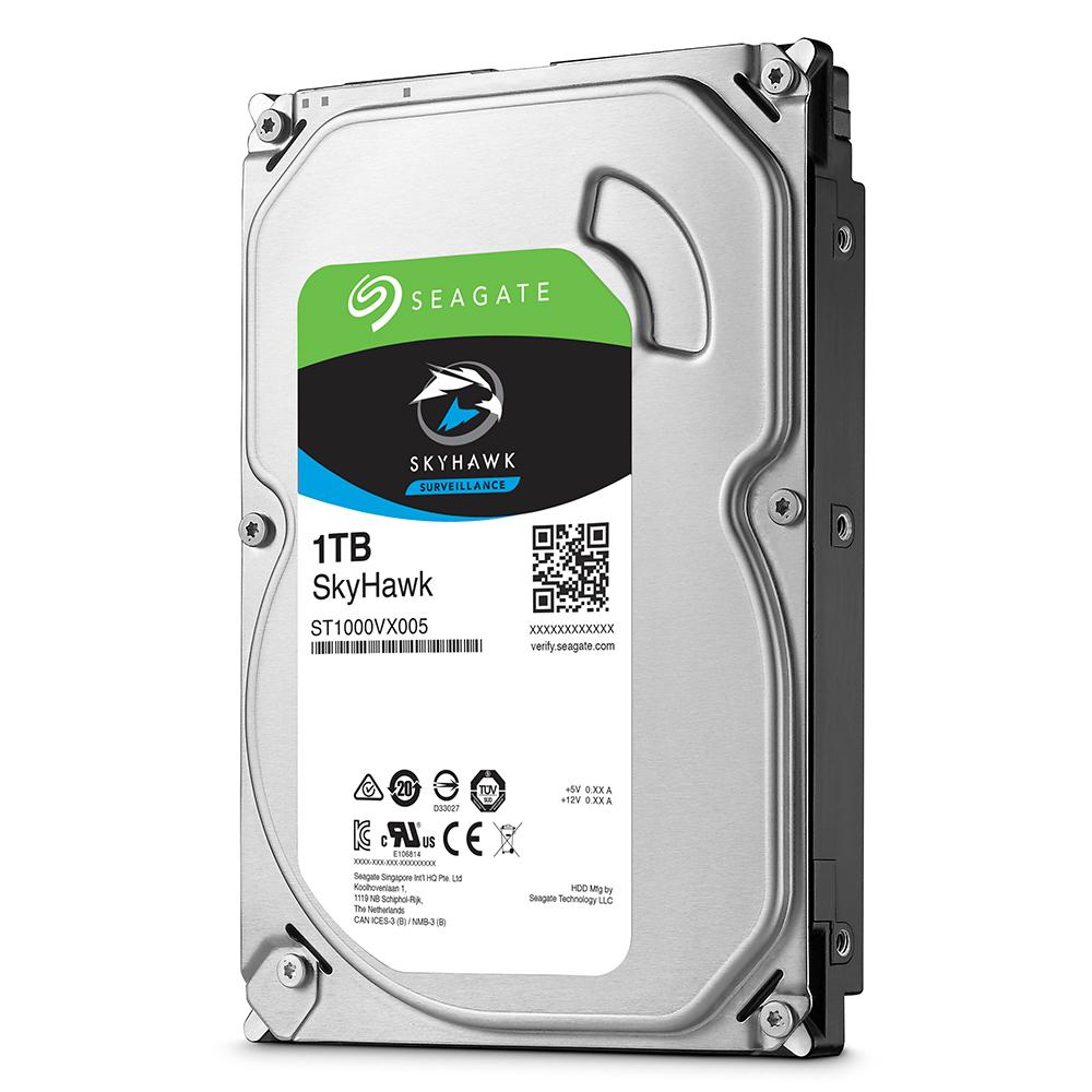 Фото 1 - Seagate ST1000VX005. Жесткий диск 1 ТБ серии SkyHawk для систем видеонаблюдения на базе TRASSIR.