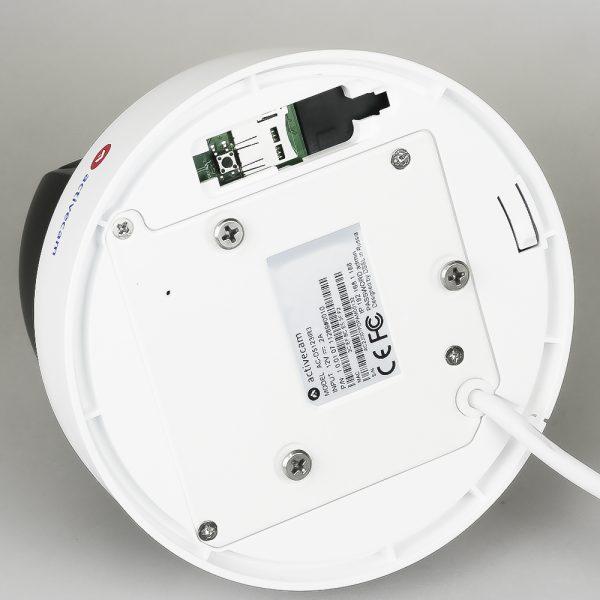 Фото 5 - Камера видеонаблюдения с зумом поворотная ActiveCam AC-D5123IR3 + ПО TRASSIR в подарок. 2Мп IP SpeedDome с ИК-подсветкой, x4 зумом и PoE+.