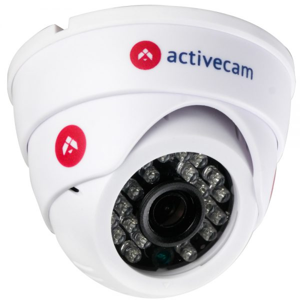 Фото 2 - ActiveCam AC-D8111IR2W. Внутренняя беспроводная 1.3Мп сферическая IP-камера с ИК-подсветкой.