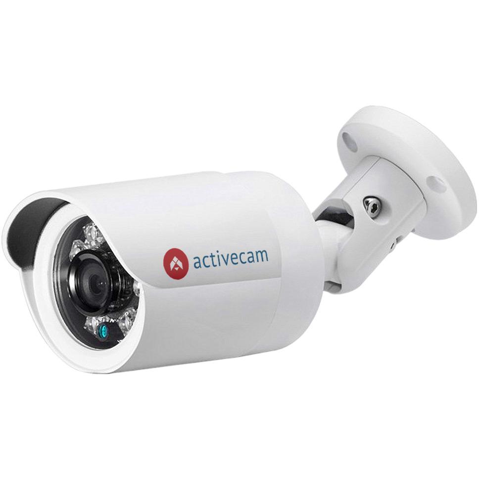 Фото 2 - ActiveCam AC-D2121IR3 + ПО TRASSIR в подарок. Уличная сетевая камера-цилиндр с ИК-подсветкой.