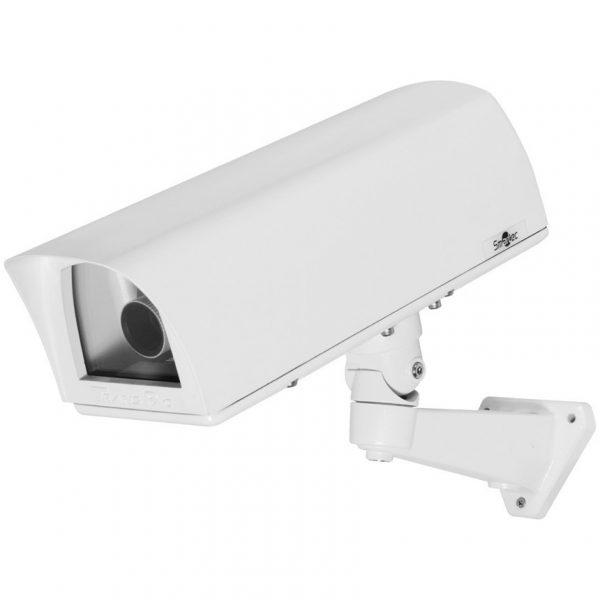 Фото 1 - Smartec STH-5230S-HPOE. Термокожух IP67 со встроенным обогревателем, солнцезащитным козырьком и настенным кронштейном для камер видеонаблюдения.