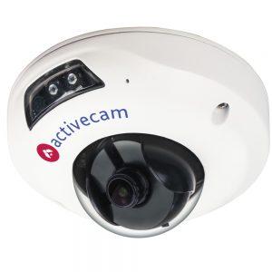 Фото 9 - ActiveCam AC-D4111IR1. Уличная бюджетная 1.3Мп мини-купольная вандалозащищенная IP-камера с ИК-подсветкой.