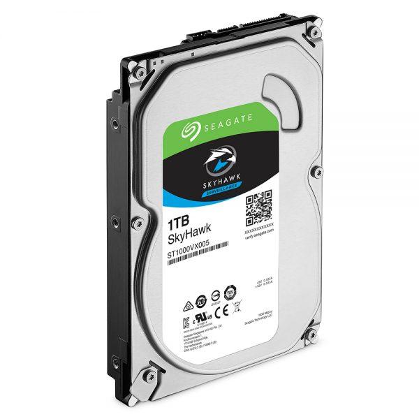 Фото 3 - Seagate ST1000VX005. Жесткий диск 1 ТБ серии SkyHawk для систем видеонаблюдения на базе TRASSIR.