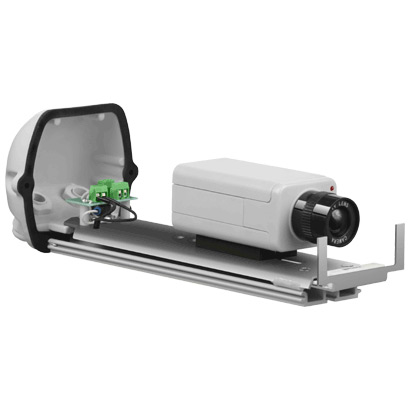 Фото 2 - Wizebox Fresh 260S-24V. Термокожух со встроенным обогревателем, солнцезащитным козырьком и настенным кронштейном для камер видеонаблюдения..