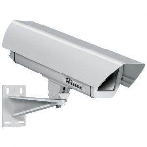 Фото 89 - Wizebox Fresh 260-24V. Термокожух со встроенным обогревателем, солнцезащитным козырьком и настенным кронштейном для камер видеонаблюдения..