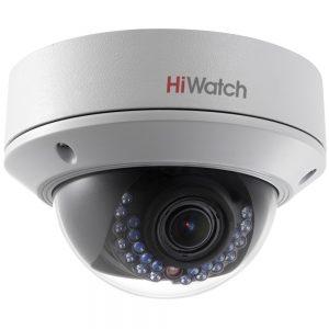 Фото 22 - HiWatch DS-I128. Уличная вандалостойкая купольная IP-камера с вариофокальным объективом.