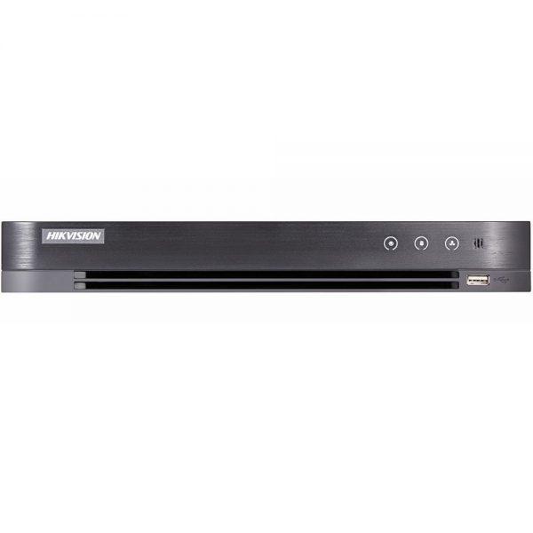 Фото 1 - 4-канальный гибридный видеорегистратор Hikvision DS-7204HQHI-K1/P с поддержкой IP камеры.