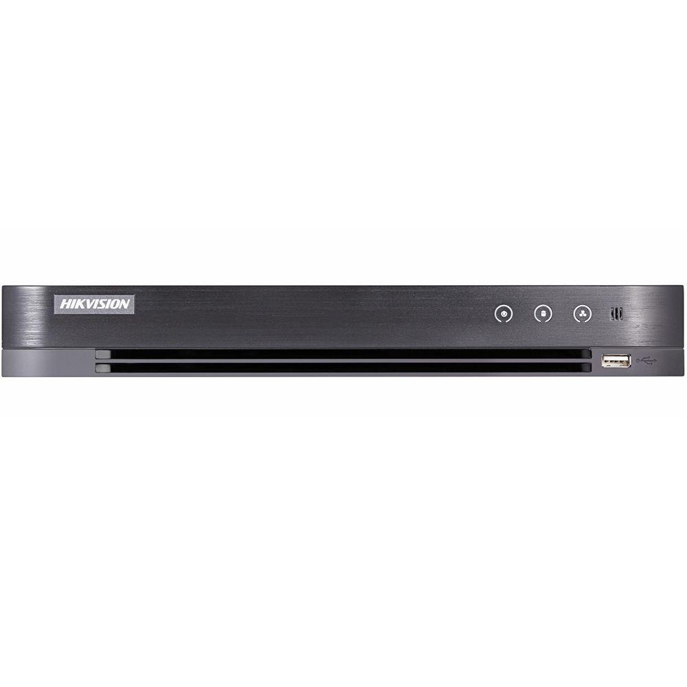 Фото 5 - 4-канальный гибридный видеорегистратор Hikvision DS-7204HQHI-K1/P с поддержкой IP камеры.